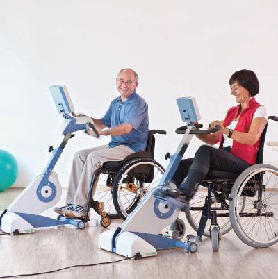 THERA-Trainer Tigo — тренажер для активно–пассивной реабилитации нижних и верхних конечностей.