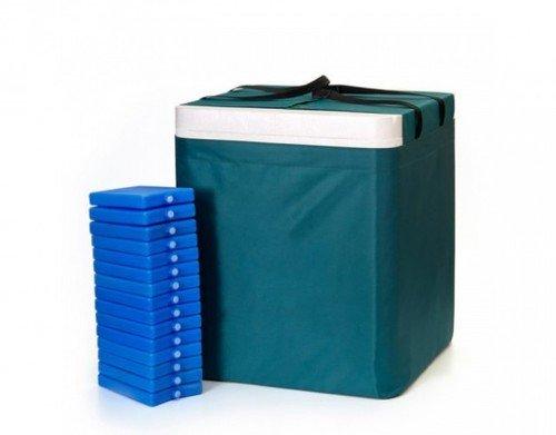 Термоконтейнер переносной для кратковременного хранения крови, кровезаменителей и биопрепаратов ТМ-«МОКА» в исполнении: ТМ50 (на 50 литров)