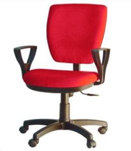 Кресло врача с трапециевидной спинкой