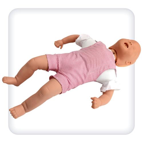 Тренажёр-манекен младенца для отработки навыков удаления инородного тела