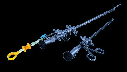 """Цистоуретроскоп Цу-ВС-1-""""А.-Л.""""( операционный комплект с жестким инструментом ) мод.14 А"""