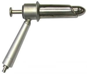 Тубус проктоскопа с П-образным вырезом (аноскоп)