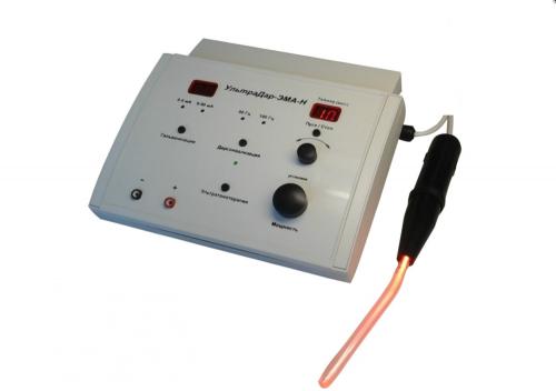 """Аппарат для лечения токами надтональной частоты местной дарсонвализации, гальванизации и проведения электрофореза """"УльтраДар-ЭМА-Н"""""""