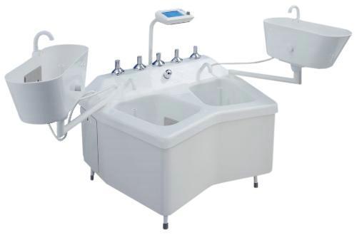 Ванна медицинская камерная для бальнеологических процедур конечностей, модель 0.9-4, Unbescheiden