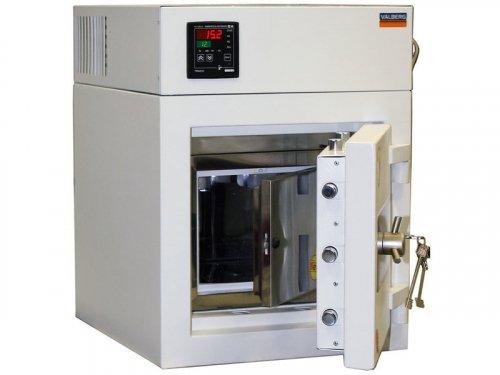 Сейф-термостат фармацевтический TS - 3/12 дверь металл, с замком