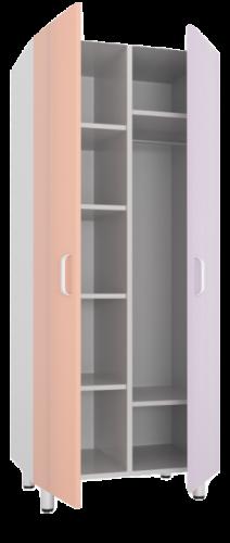 ШО-2СТ Шкаф с полками для головных уборов и обуви, шкаф для одежды