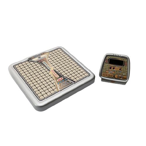 Весы напольные медицинские на батарейках, выносное табло ВМЭН-150-50/100-д2-А