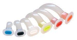 Воздуховод полимерный стерильный №4 (100 мм, красный) /Alba Healthcare/ 50
