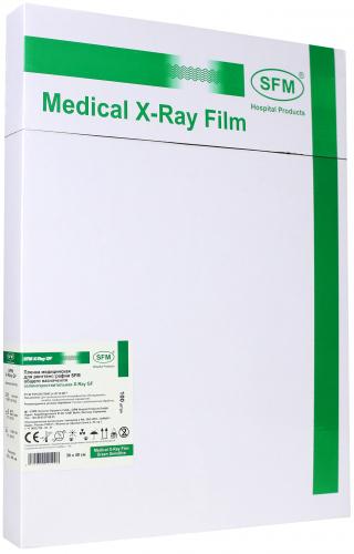 Пленка медицинская для рентгенографии SFM общего назначения зеленочувствительная X-Ray BF, 30x40 мм