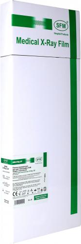 Пленка медицинская для рентгенографии SFM общего назначения зеленочувствительная X-Ray GF, 18x43 мм
